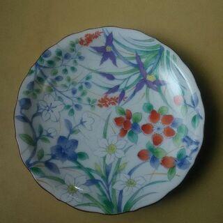平皿 花柄