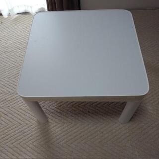 ミニこたつテーブルと足高セット