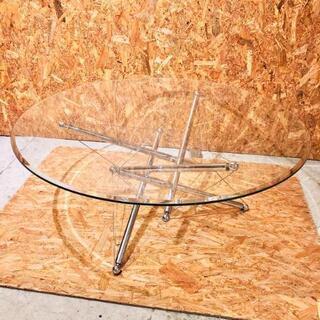 Cassina カッシーナ 713 ローテーブル ガラス …