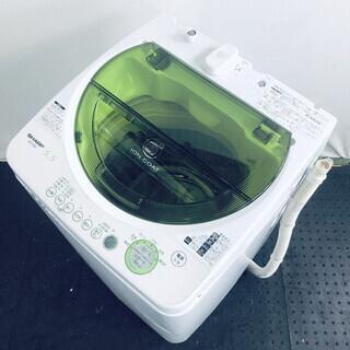 中古 洗濯機 シャープ SHARP 全自動洗濯機 2005年製 ...