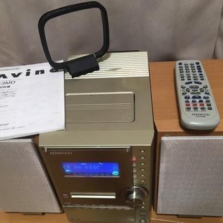 CD/MD/カセットテープ<動作確認済>  ケンウッド Avin...