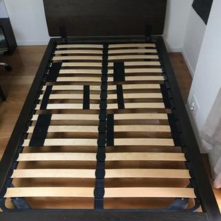 無印良品 ベッドフレーム(ヘッドボード付き)セミダブル