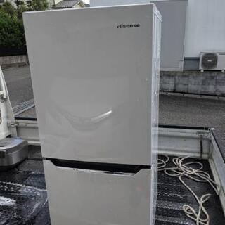 ハイセンス冷蔵庫130リットル美品。