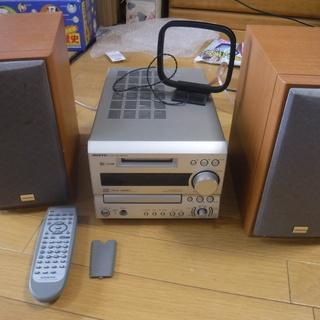オンキョー MD/CDコンポ FR-X7(一部動作未確認、外箱、...