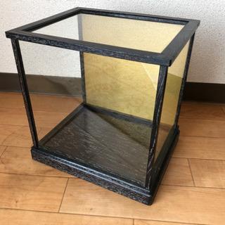 【完了】人形・置物等用 鑑賞ガラスケース