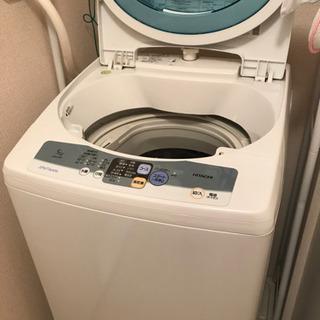 [不具合無し]日立洗濯機5kg 1000円でどうぞ