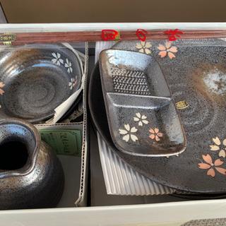 天ぷらの陶器セット