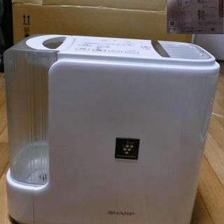 シャープ 加熱気化式加湿器 HV-50E1-W