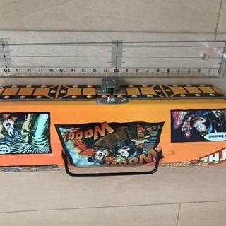 東京ディズニーシー 筆箱 缶 ペンケース