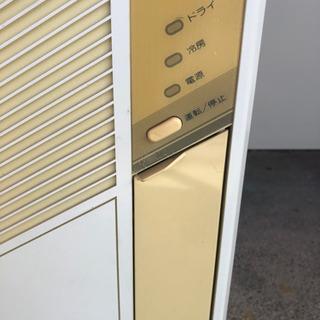 『相談中』になりました 古いけど良く冷えます コロナ 窓用エアコン 枠付 − 三重県