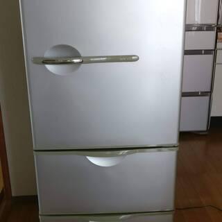 SANYO サンヨー 3ドア冷凍冷蔵庫 255リットル グレー