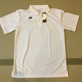 ニューバランスのドライシャツ(白色)