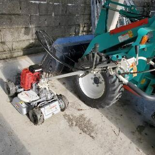 自走 草苅機 4WD