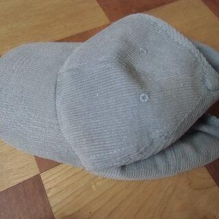 ●無料● グレーの帽子 キャップ 1点を差し上げます。*石川県*...