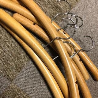木製ハンガー 50本