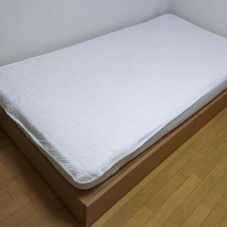 無印良品 収納ベッドシングル マットレス付き