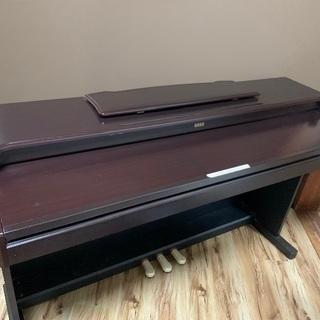 中古電子ピアノ:KORG CONCERT C-4500 ダークブラウン