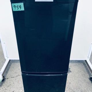 959番 三菱✨ノンフロン冷凍冷蔵庫✨MR-P15S-B‼️