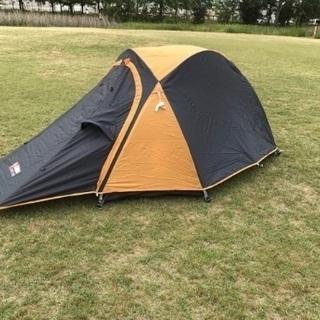 【ほぼ新品】alpine design ツーリングドーム テント...