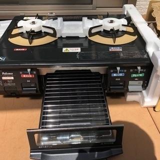 パロマ IC-800B-R プロパンガスコンロ、ガステーブル
