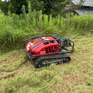草刈りします