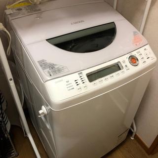 ◆ TOSHIBA洗濯機◆ZABOON AW-90SVL ホワイト◆