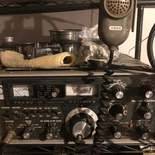 八重洲FT-101 ジャンク 電源コード有り