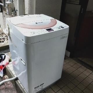 取引中 SHARP 洗濯機 2014年製