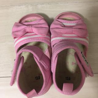 サンダル 13センチ ピンク 女の子 - 名古屋市