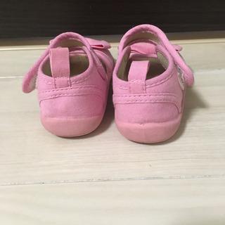 サンダル 13センチ ピンク 女の子 - 子供用品
