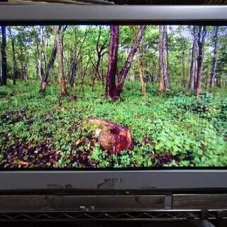 希少 地デジチューナー内蔵ブラウン管テレビ 東芝 36DX100