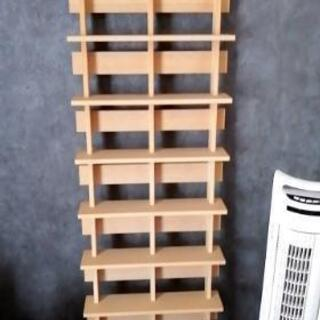 マルゲリータ Ladder シェルフ型CDラック 2列タイプ