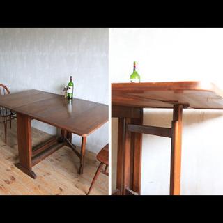 折りたたみテーブル/イギリスアンティーク
