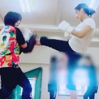 尼崎 武庫之荘 レディースキックボクシング教室