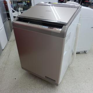 洗濯機 12㎏ 2017年製 日立 BW-DX120B 洗濯乾燥...