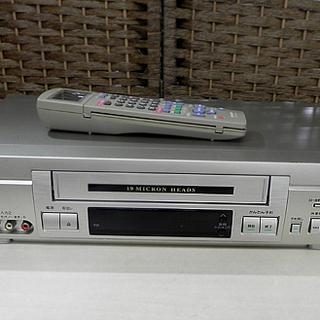 シャープ VHS ビデオカセットレコーダー 2000年製 VC-...