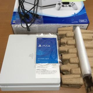 プレステ4 500GB CUH-2200A B02 ホワイト 本...