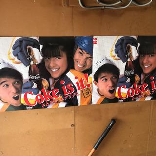 当時モノ コカコーラのポスター