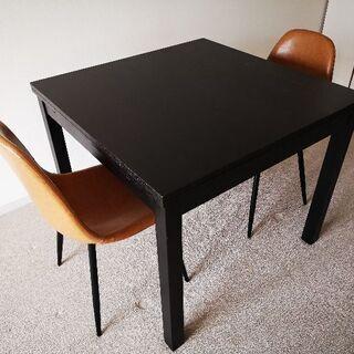 ダイニングテーブル 伸長式 IKEA