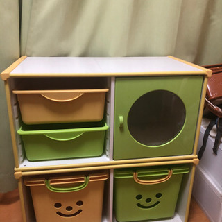 おもちゃ収納カラーボックス☆アイリスオーヤマ☆中古