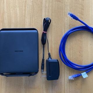 高速Wi-Fiルーター バッファロー製 WHR-1166DHP4