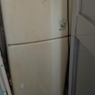 2ドア 冷蔵庫 無料で差し上げます。