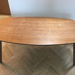 折りたたみローテーブル 90㎝ 無料
