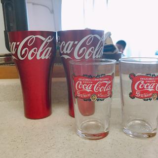 新品・未使用) コカコーラ コップ、グラス