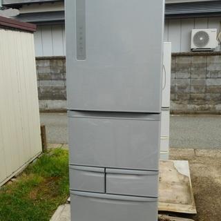 TOSHIBA 426L 冷凍冷蔵庫 GR-G43G-SS 20...