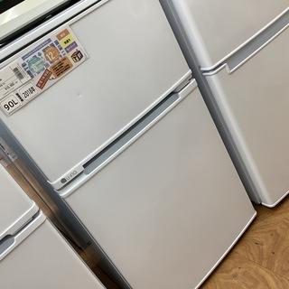 2ドア冷蔵庫 ユーイング 2018年製 UR-D90L