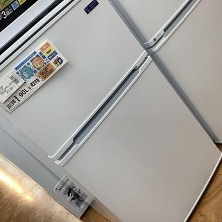 2ドア冷蔵庫 YAMADA  2019年製 YRZ-CO9G1