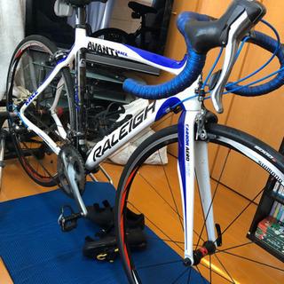 ラレー カーボンロードバイク 52cm ULTEGRA +装備一式