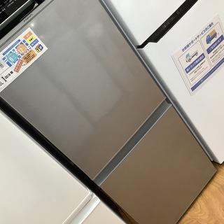 2ドア冷蔵庫 AQUA  2018年製 AQR-13G