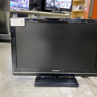 シャープ 22インチ液晶テレビ LC-22K7